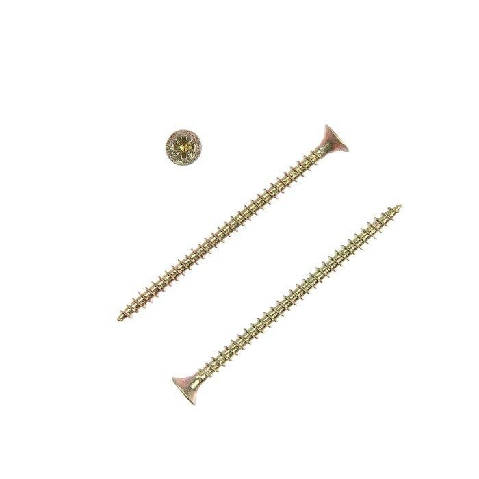 Universal self-tapping screws yellow 4.5x70, 150 pcs 4747839 equipment