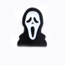 20pcs/lot Horror Style Enamel Pin Scream Brooches for Boys Girls Lapel Hat/bag Pins Denim Jacket Brooch Badge D118