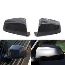 2 шт автомобильные чехлы для зеркала из углеродного волокна