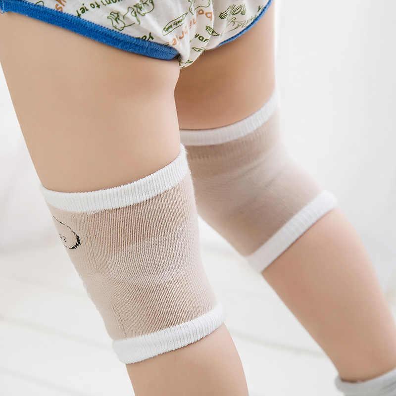 1 par de rodilleras de bebé Protector de seguridad para niños almohadilla para codo de gatear bebés rodilleras Protector calentadores de piernas bebé