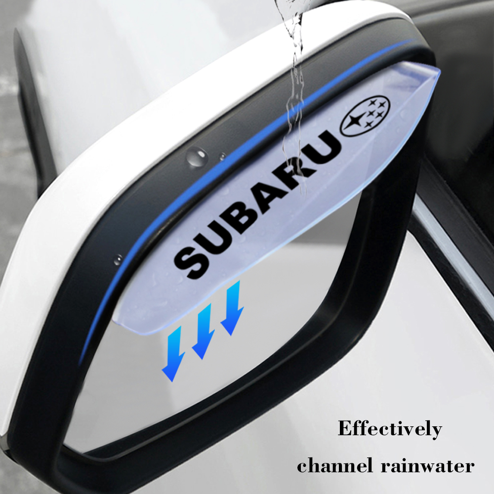 1 pair For Subaru Impreza Forester Tribeca XV BRZ accessories rain eyebrow auto parts rain weather protection parts