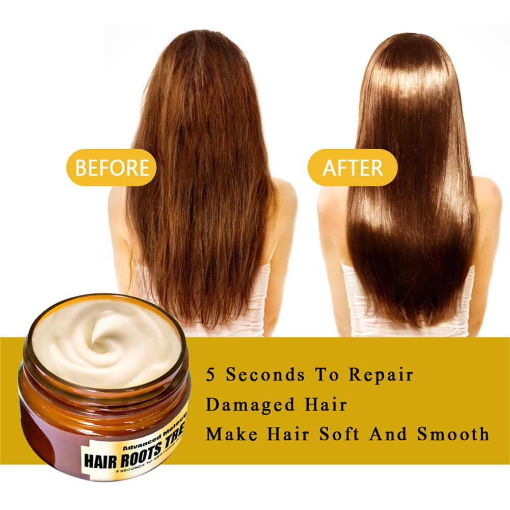 Hydrating Deep Conditioner Hair Mask Hair Roots Treatment Return Bouncy Recover Elasticity Hair Care For Dry And Damaged Hair 4