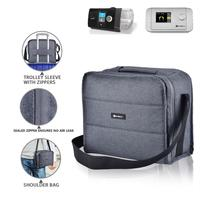 9inch CPAP machine carry bag Multiple accessory compartments Waterproof shoulder bag CPAP accessories