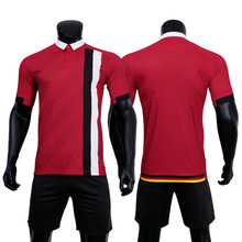 Football Jersey Team Soccer Wear Logo And Name Design Men Sportswear Uniforms Shirts
