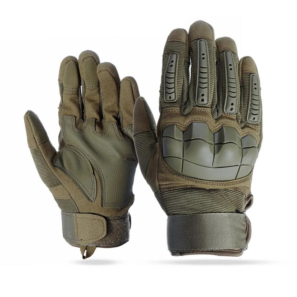 2020 neue Touchscreen Volle Finger Handschuhe Motorrad <font><b>Military</b></font> Tactical Airsoft Harte Knuckle Outdoor # e image