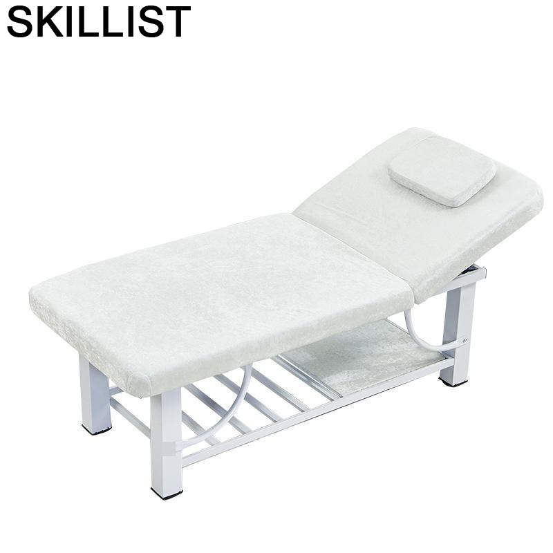 Pedicure Mueble Cadeira Massagem Table De Pliante Tempat Tidur Lipat Folding Salon Chair Camilla Masaje Plegable Massage Bed