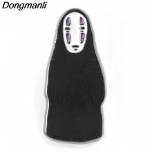 P3807 Dongmanli Anime Ghost Metal Enamel Brooches and Pins Lapel Pin Backpack Badge Collar Jewelry