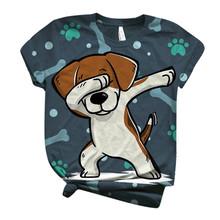 40 # Harajuku T-shirt Plus Size damskie t-shirty z krótkim rękawem Top Casual luźne 3d zwierząt koszulki z nadrukiem topy z okrągłym dekoltem Tee koszulki tanie tanio ISHOWTIENDA CN (pochodzenie) Lato Dla osób w wieku 18-35 lat Na co dzień krótkie POLIESTER
