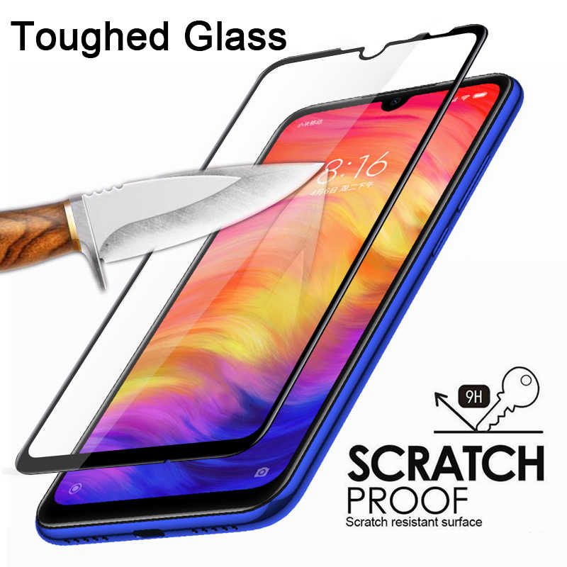 9D Protective Glass for Redmi 7 6 Pro 5 Plus 6A 5A 4X Smartphone High Quality Screen Protector for Redmi Y3 Y2 S2 Go