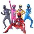 Мальчика Мощность костюм детский костюм супергероя меха пять чудовище красная Ranger Morpher вечерние Косплэй на карнавал, Хэллоуин, нарядное пла...