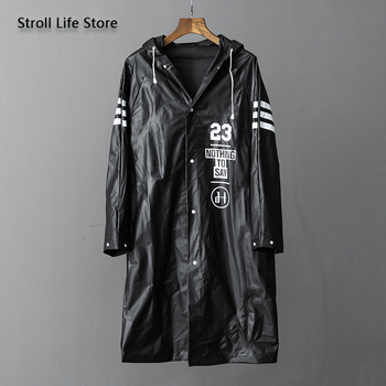 Transparent Raincoat Women Couple's Long Rain Poncho Rain Coat Women Plastic Suit Waterproof Cover Rainwear Impermeable Gift