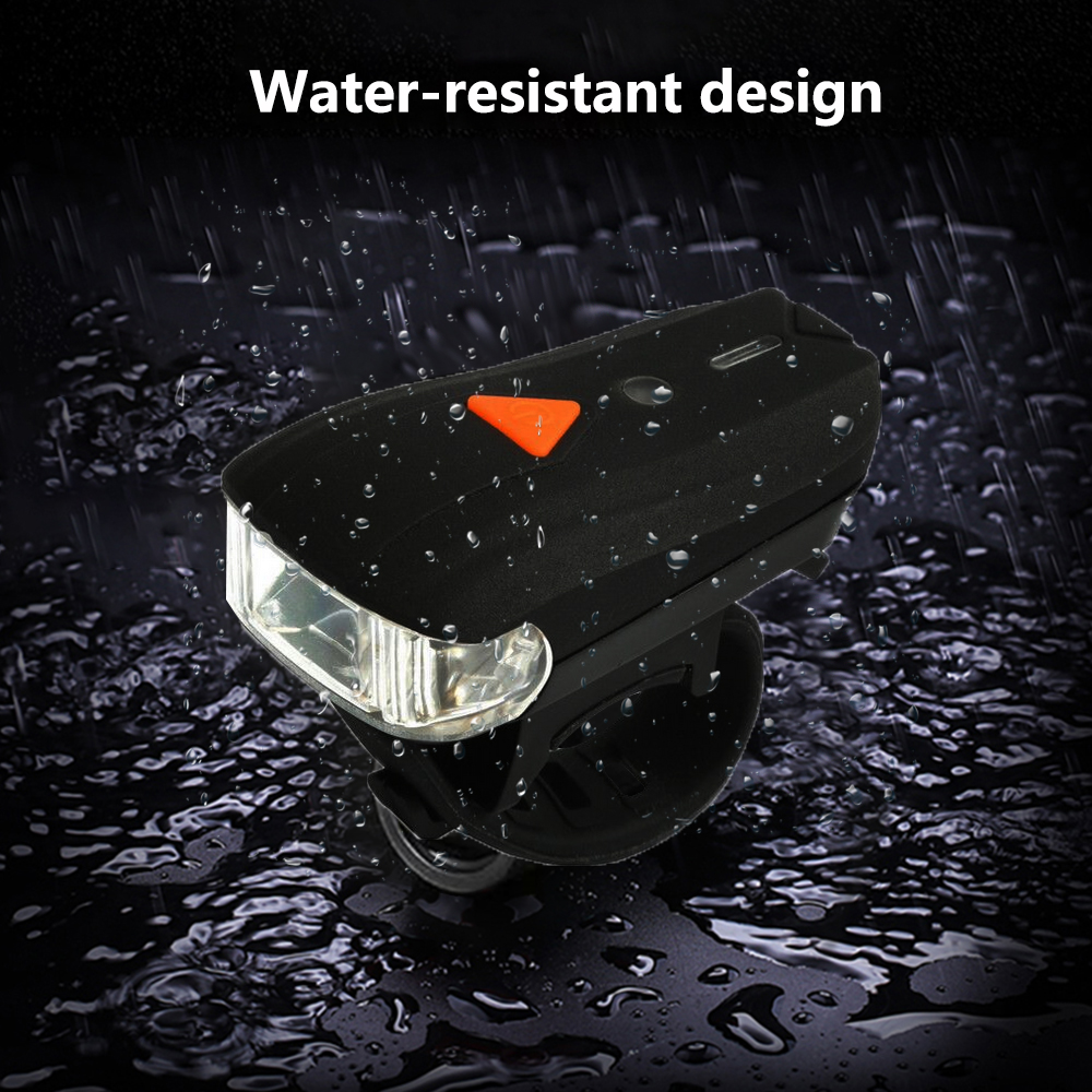 Professional Bike Headlight Electric Front Light USB Charging Waterproof Adjustable Smart Induction Flashlight For Bicycle Bike in Bicycle Light from Sports Entertainment