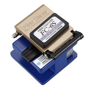 Металлический волоконный Кливер Fc-6S волоконно-оптический кабельный резак Холодная резка Алюминиевого волокна используется в Fttx Ftth Fc-6S воло...