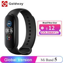 Version mondiale Xiaomi Mi band 5 Bracelet intelligent 4 couleurs AMOLED écran Miband 5 Smartband Fitness Traker Bluetooth Sport étanche bande intelligente
