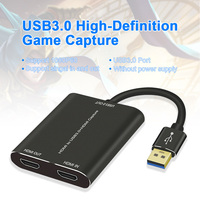 HDMI To USB3.0 Computer Components Live Streaming Video Card Teaching HD 1080P Home Office Audio Grabber Game Recording