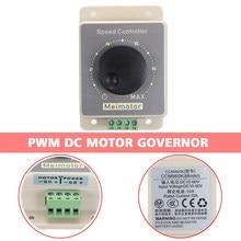 Potentiomètre régulateur de vitesse PWM 20A DC, 1 pièce, contrôleur de vitesse réglable 5% – 100%, avec interrupteur, pièces de Machine électrique
