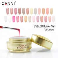 #50951 CANNI suministro de uñas de oro fabricante de botellas de gel 15ml claro gel uv de manicura exprender la lámpara de uñas cura uñas delgadas de gel