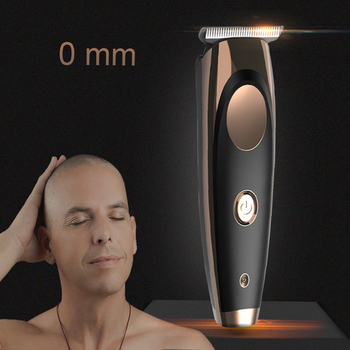100-240V waterproof Professional balding hair clipper electric Hair Trimmer hair cutting machine 0.1mm Steel blade beard trimer lili professional balding clipper for barbers and stylists cuts full head balding cutting machine super motor hair salon clipper
