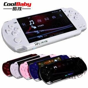 Image 3 - 2019 yeni dahili 5000 oyunları, 8GB 4.3 inç PMP el oyun oyuncu MP3 MP4 MP5 çalar Video FM kamera taşınabilir oyun konsolu