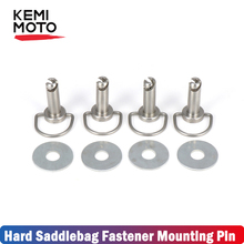 Motorcycle Parts Fastener Hard Saddlebag Mounting Pin Bolts For Touring lectra Road Street Glide FLH FLT Softail FXST FLSTF FLST