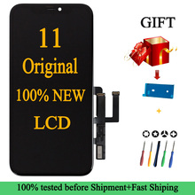 100% Original New Lcd For iPhone 11 New Display Touch With 3D Touch Screen Replacement Factory Display Screen For iPhone 11 Lcd