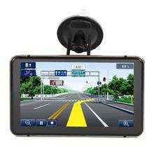 Android gps навигация Новинка 7 дюймов DVR камера Sat Nav Bluetooth WiFi AV-IN карта Sat Nav грузовик gps навигаторы автомобильные