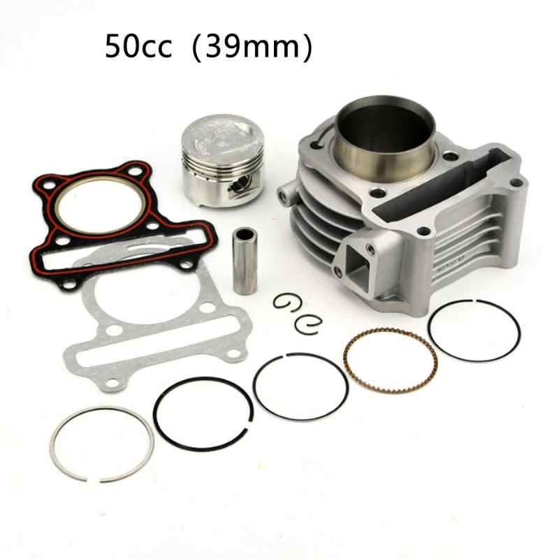 39mm 50cc 44mm 60cc 47mm 80cc 50mm 100cc 4T cylindre baril Kit pour GY6 Scooter Peugeot