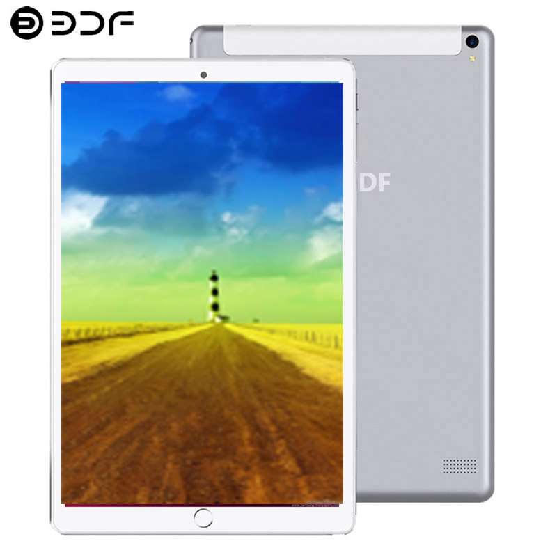 10/1 Inch Tablet PC 4G/3G Phone Call Android 8.0 Octa Core 6GB/128GB Dual Cameras Tablets Mobile GPS Wi-Fi Tactile Tablet Pc