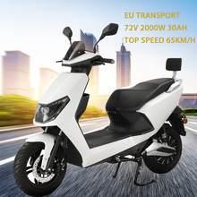 Scooter elétrico da motocicleta 2000w 65km/h scooter elétrico do veículo bicicleta elétrica com ce elétrica bicicleta elétrica transporte da ue