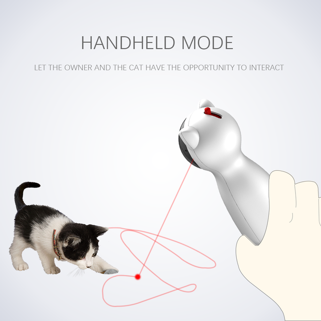 LED Laser for cats. An Electronic Pet. An interactive Smart toy 5
