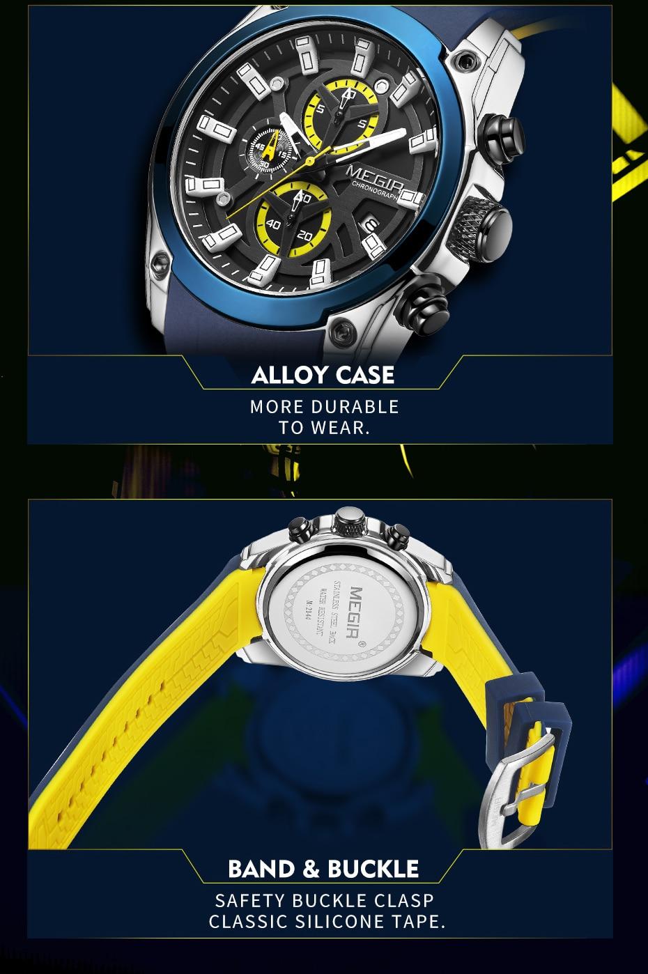 H796328bd36224fed94462ca832b3985aD MEGIR 2020 Blue Sport Watches for Men