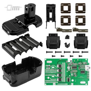 P108 obudowa z tworzywa sztucznego do ładowania baterii obwód ochronny PCB Box Shell dla RYOBI 18V P103 P107 BPL-1815 1820G 18151 1820 ONE + tanie i dobre opinie Elektryczne for RYOBI