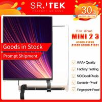 """Srjtek 7.9 """"lcd para ipad mini 2 3 gen retina mini2 a1489 a1490 mini3 a1599 a1600 a1601 matrix screen display lcd peças de reparo Painéis e LCDs p/ tablet     -"""