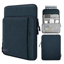 Чехол для планшета 9-11 дюймов, чехол с карманами для хранения для Samsung Galaxy Tab S6 Lite,Galaxy Tab S7,iPad Pro 11/iPad 9,7