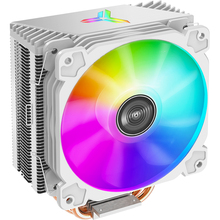 Jonsbo CR1000 CPU air Cooler Colorful LED 4 heat Pipes For Intel 115x 1200 AMD AM4 Desktop Computer Cooling Fan Radiator