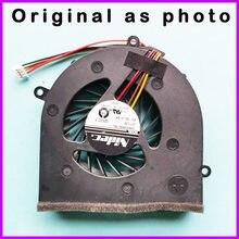 Ventilador de refrigeração da cpu do portátil original para lenovo g470 g470a g470ah g570 g475ax g475 refrigerador do radiador portátil 4 linhas