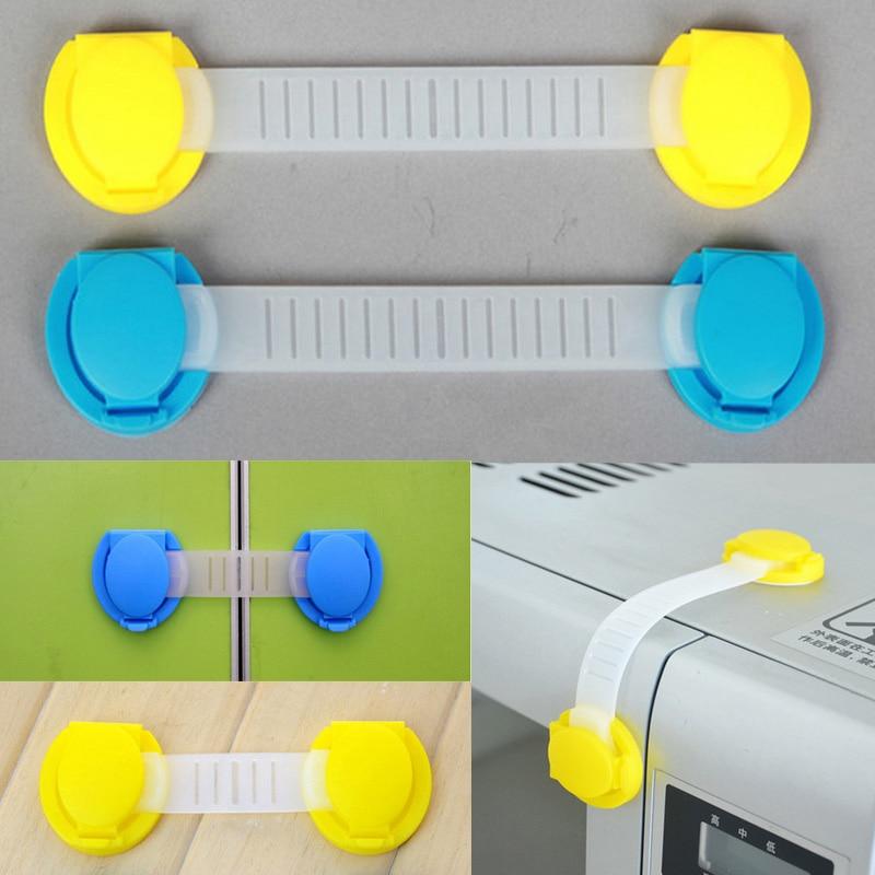 10 Pcs/Set Baby Protective Locks Safety Drawer Lock Baby Safety Cabinet Door Lock Children Furniture Corner Protection