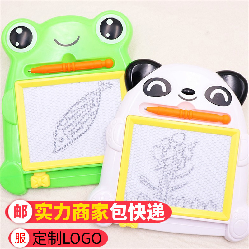 Piggy  Paige Elephant Frog Panda Magnetic Drawing Board Children's Day Toy Gift Baby Graffiti Drawing Board
