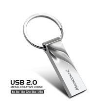 Reale Kapazität USB 2,0 high speed usb flash-stick 32 gb pen drive 4 gb, 8 gb 16 gb 64 gb 128 gb stick metall-karte
