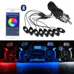 The vectra yituo eight special color RGB bluetooth APP control suv car lamp decoration atmosphere lamp