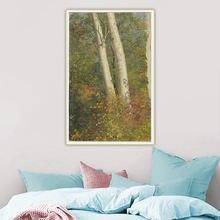 Citon церковь Фредерика Эдвина «березовые деревья в осени» 》