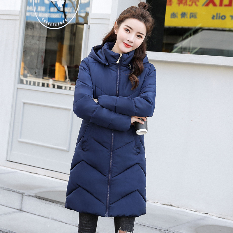Women Winter Jacket Cotton Padded 6XL Plus size Hooded down cotton Womens Jackets Winter Coat Female Long   Parkas   Chaqueta Mujer