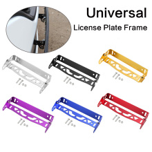 Frame-Tag-Holder License-Plate-Frame Rotating-Number-Plate Aluminum New Multi-Color Auto