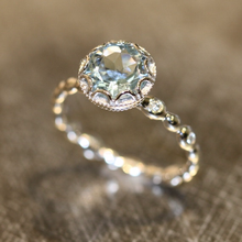 Round Ring Jewelry Charm Bridal African Wedding Fashion Women Classic Crystal Party for