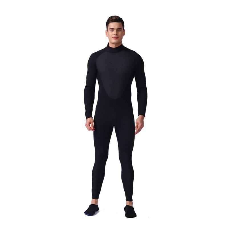 Combinaison de plongée sous-marine de 3mm pour hommes combinaison de plongée en néoprène Triathlon combinaison de plongée sous-marine pour hommes