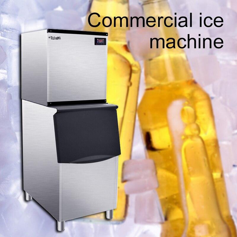 220 В/750 Вт Коммерческая большая машина для льда интеллектуальная автоматическая машина для чайного магазина бар ktv большая емкость машина