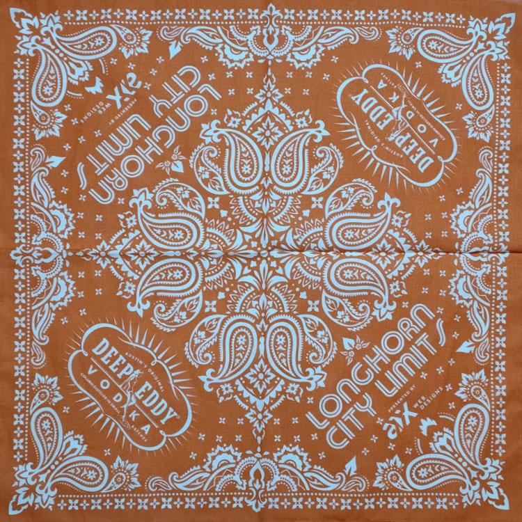 Hip Hop Paisley Cotton Scarf Bandana Square Headband Scarf Gifts Hip Hop Dancing Cashew Printed For Women/Men/Boys/Girls