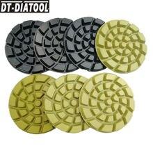 """Dt diatool 7 шт Диаметр 4 """"/100 мм полировальные диски"""