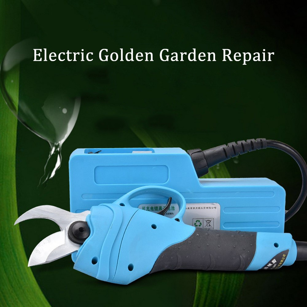 110V 240V Electric Pruner Cutting Shears Garden Pruning Fruit Tree Trimmer Scissors