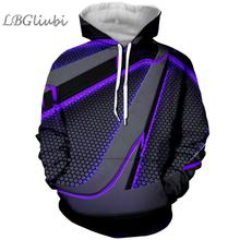 LBG New 3D Print borderlands Hoodie, borderlands3 Fashion Men and Women Hoodie Harajuku Mens
